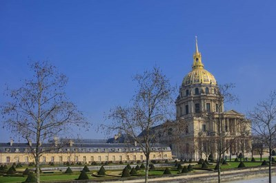 Hotel National des Invalides I Poster by Cora Niele for $43.75 CAD