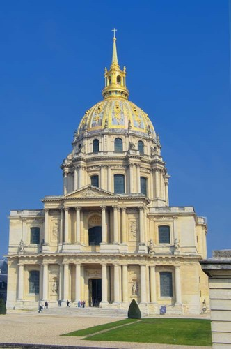 Hotel National des Invalides III Poster by Cora Niele for $43.75 CAD