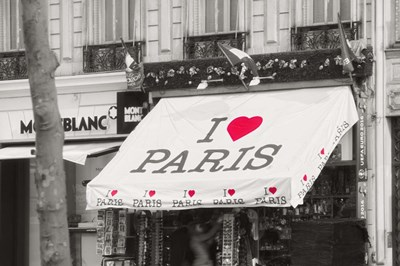 I Love Paris Poster by Cora Niele for $43.75 CAD