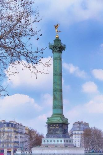 La Colonne de Juillet On Place de la Bastille Poster by Cora Niele for $43.75 CAD