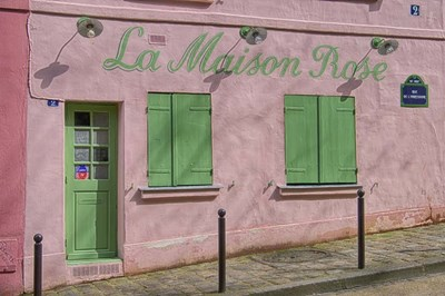 La Maison Rose Poster by Cora Niele for $43.75 CAD