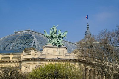 Le Grand Palais I Poster by Cora Niele for $43.75 CAD