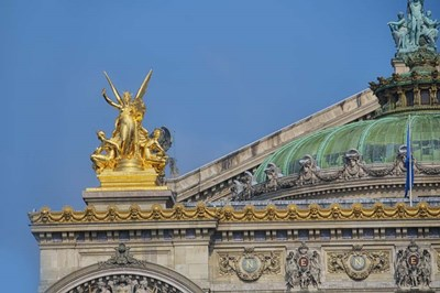Opera Garnier Detail I Poster by Cora Niele for $43.75 CAD