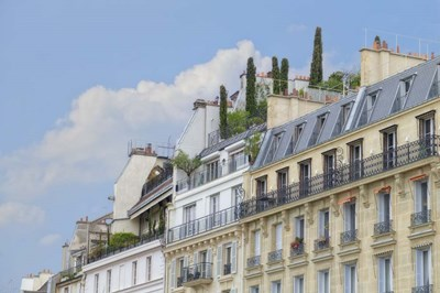 Paris' Roof Gardens Poster by Cora Niele for $43.75 CAD