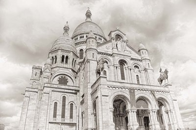 Sacre-Coeur III Poster by Cora Niele for $43.75 CAD