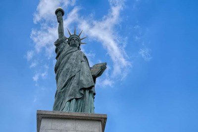 Statue Of Liberty Paris I Poster by Cora Niele for $43.75 CAD