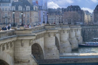 The Pont Neuf I Poster by Cora Niele for $43.75 CAD