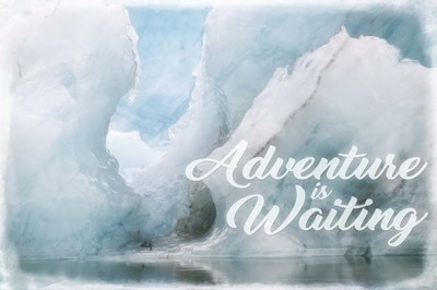 Adventure Is Waiting Poster by Cora Niele for $43.75 CAD