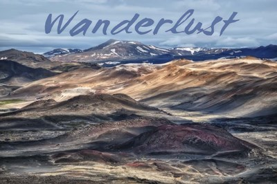 Wanderlust Poster by Cora Niele for $43.75 CAD