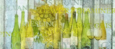Alsace Wine Poster by Cora Niele for $47.50 CAD