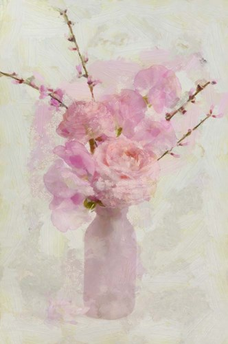 Small Pink Bouquet Poster by Cora Niele for $43.75 CAD