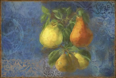 Pears - Fruit Series Poster by Cora Niele for $43.75 CAD