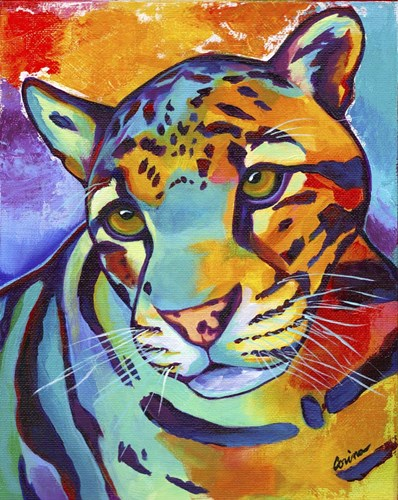 Clouded Leopard Poster by Corina St. Martin for $40.00 CAD