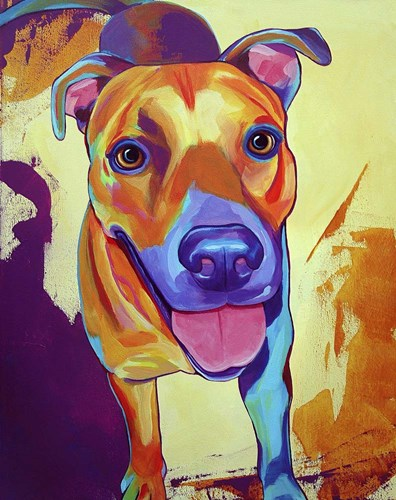 Kelsea Dog Poster by Corina St. Martin for $40.00 CAD