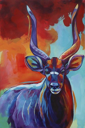 Nyala Poster by Corina St. Martin for $43.75 CAD