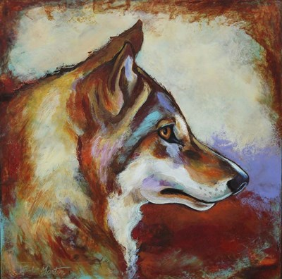 Wolf Portrait Poster by Corina St. Martin for $48.75 CAD