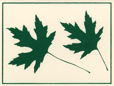 Green Leaves Poster by Crockett Collection for $41.25 CAD