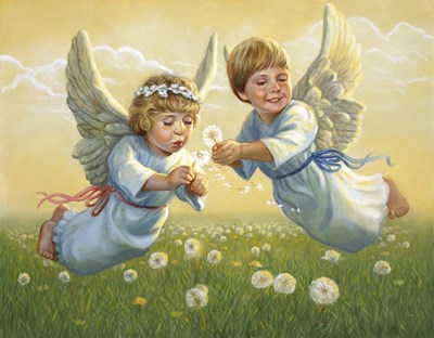 Angels Poster by David Lindsley for $38.75 CAD