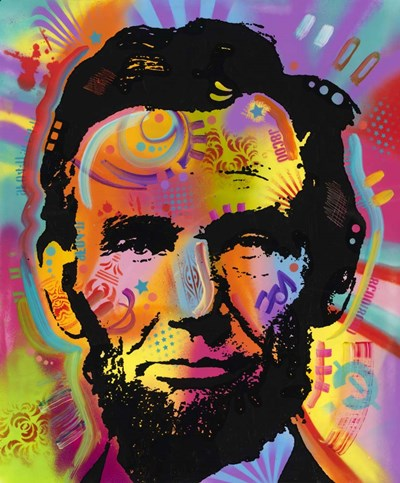 Abraham Lincoln IV Poster by Dean Russo- Exclusive for $55.00 CAD