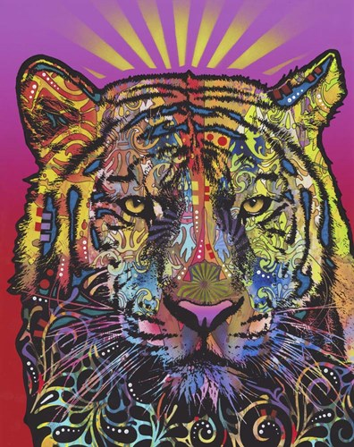 Regal (Tiger) Poster by Dean Russo for $40.00 CAD