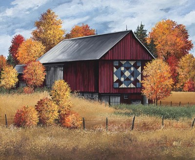 Americana Quilt Poster by Debbi Wetzel for $71.25 CAD