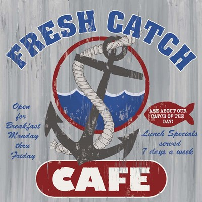 Fresh Catch Poster by Fiona Stokes-Gilbert for $35.00 CAD