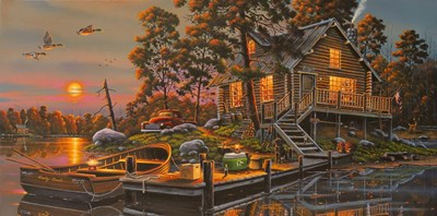 Duck Haven Poster by Geno Peoples for $52.50 CAD