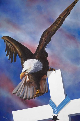 Eagle Poster by Geno Peoples for $72.50 CAD