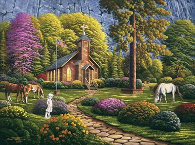 Morning Service Poster by Geno Peoples for $41.25 CAD