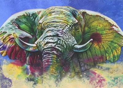 Green Dust Poster by Graeme Stevenson for $52.50 CAD