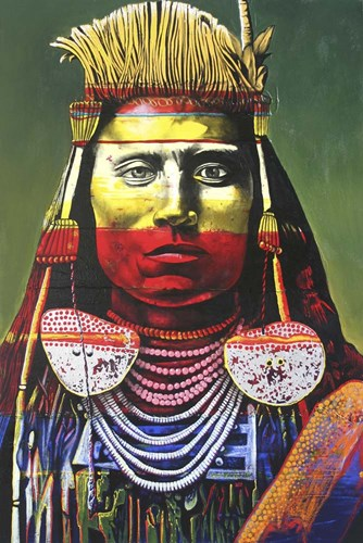 Indian Chief Poster by Graeme Stevenson for $43.75 CAD
