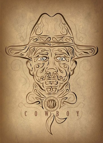 Cowboy Poster by Greg Simanson for $68.75 CAD