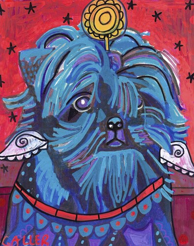Affenpinscher Angel Poster by Heather Galler for $33.75 CAD