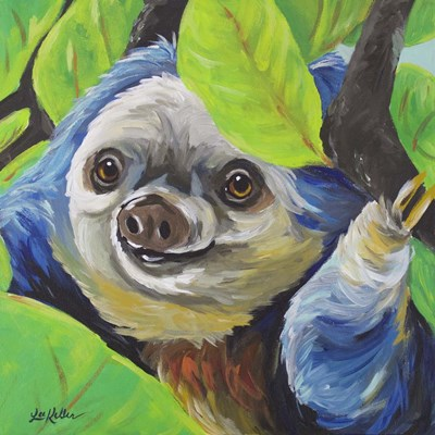 Sloth Speedy Poster by Hippie Hound Studios for $35.00 CAD