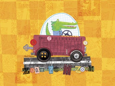 Animal Transporters 1 Poster by Holli Conger for $41.25 CAD