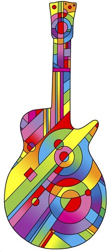 Guitar 79 Poster by Howie Green for $56.25 CAD