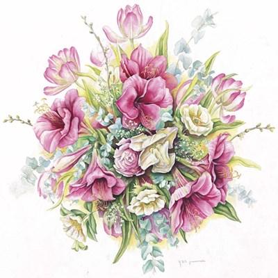 January Bouquet Poster by Janneke Brinkman-Salentijn for $35.00 CAD