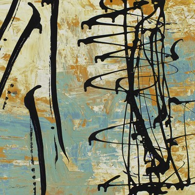 Abstract Whirlwind Poster by Jean Plout for $56.25 CAD