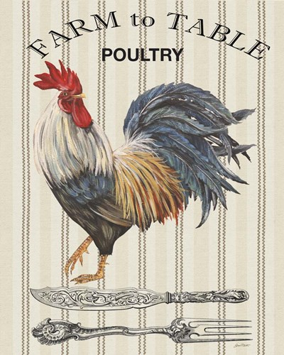 Farm to Table - A Poster by Jean Plout for $56.25 CAD