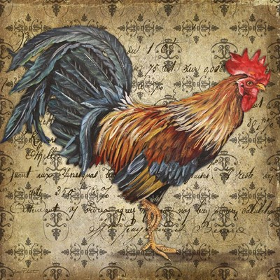 Le Coq 1 Poster by Jean Plout for $41.25 CAD