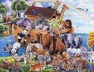 Noah's Ark Poster by Jenny Newland for $42.50 CAD