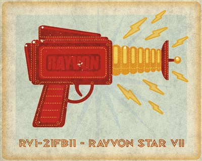 Rayvon Star VII Poster by John W. Golden for $36.25 CAD