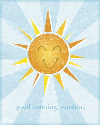 Sunshine II Poster by John W. Golden for $25.00 CAD