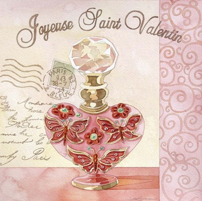 French Valentine II Poster by Julie Goonan for $35.00 CAD