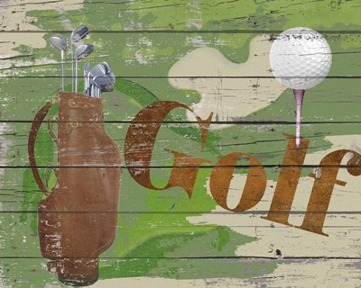 Golf Poster by Karen Williams for $56.25 CAD
