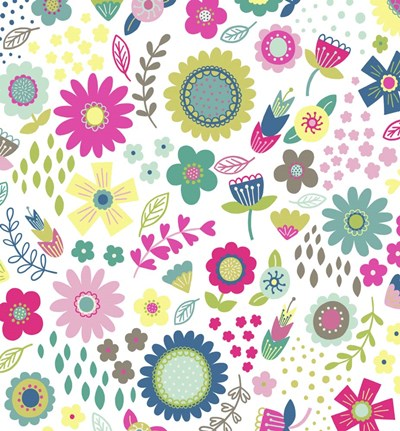 Floral Pattern 1 Poster by Katy Halford for $28.75 CAD