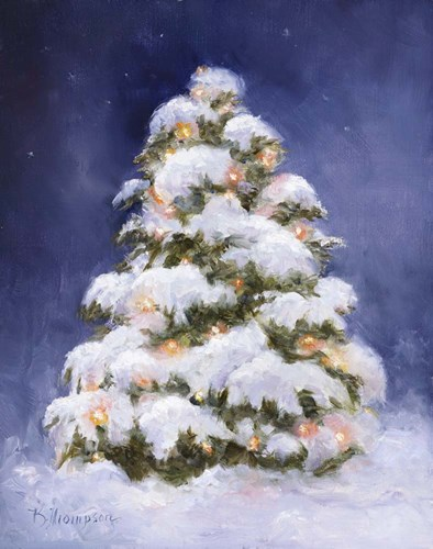 Christmas Glow Poster by Kathie Thompson for $65.00 CAD