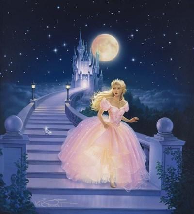 Cinderella Poster by Kirk Reinert for $36.25 CAD