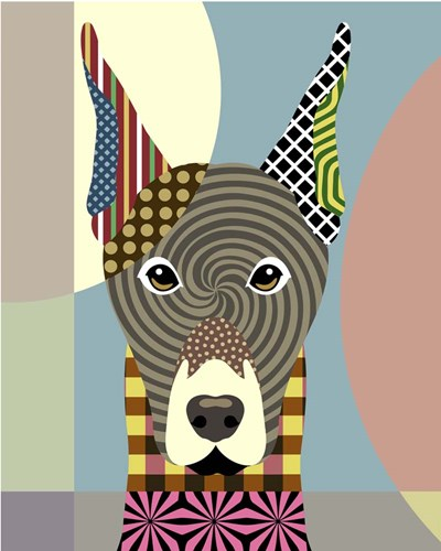Doberman Pinscher Poster by Lanre Adefioye for $56.25 CAD