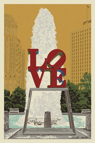 Love Poster by Lantern Press for $43.75 CAD